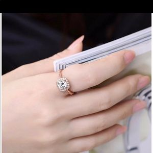 Rosegold plated ring size 5,7&8